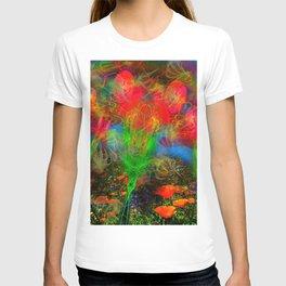Wild Poppy Hallucintion T-shirt