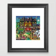Super Mighty Boosh Framed Art Print