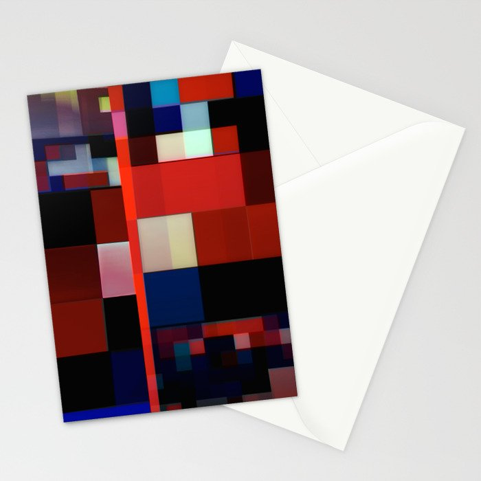 Patchwork VI Stationery Cards