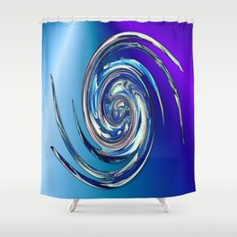 Water Witch  v.2 Shower Curtain