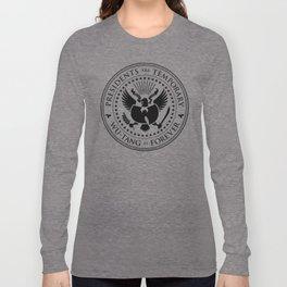 Presidents are Temporary - Black Long Sleeve T-shirt