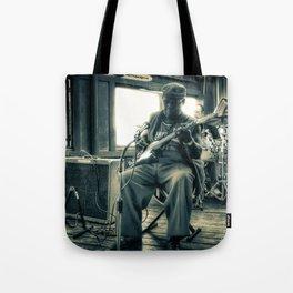 Hosea Hargrove, The Godfather Of Austin Blues Tote Bag