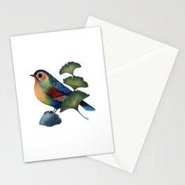 Ginkgo Bird Stationery Cards