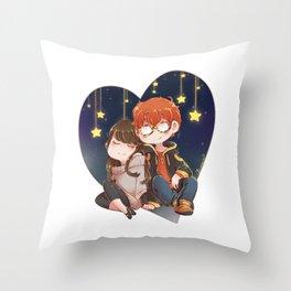 Mystic Messenger 707/MC Throw Pillow