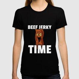 Beef Jerky Dried meat Bacon T-shirt