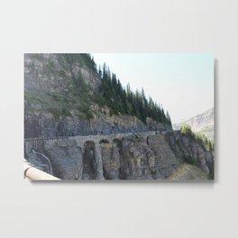 The Arches of Glacier Metal Print
