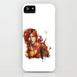 Lara Croft iPhone Case