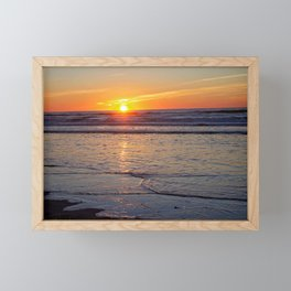 Sunrise over the Atlantic Framed Mini Art Print