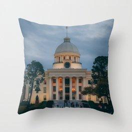 Alabama State Capitol 03 Throw Pillow