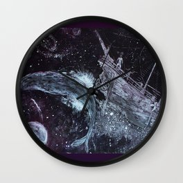 Space Pirates  Wall Clock