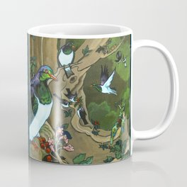 Pigeons, Parakeets and Fantails Coffee Mug