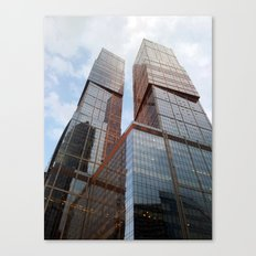 Moscow city buildings Canvas Print