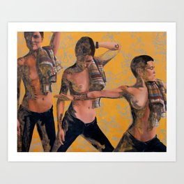 Namaste Hands Art Print