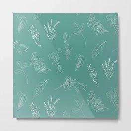 Kitchen herbs 004 Metal Print