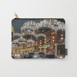 Light decorations on Nevsky Prospect. Carry-All Pouch
