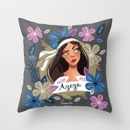 Azeza Throw Pillow