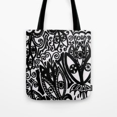Flowers in the Rain Forest. Tote Bag