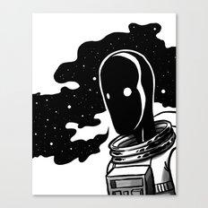 A Lot On My Mind Canvas Print