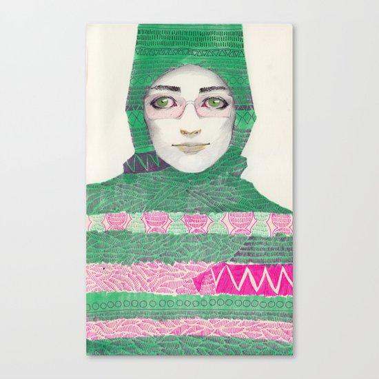 Abaya 03 Canvas Print