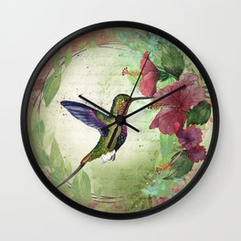 Fleeting serendipity Wall Clock