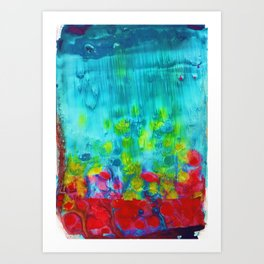 Awesome Day Art Print