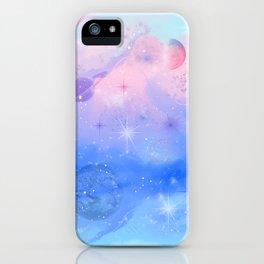 Pastel Skies at Twilight iPhone Case