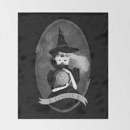 Gemini Witchy Zodiac Throw Blanket