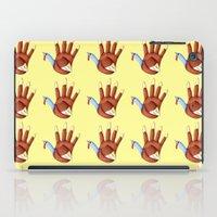 turkey iPad Cases featuring 1st Turkey by KristenOKeefeArt