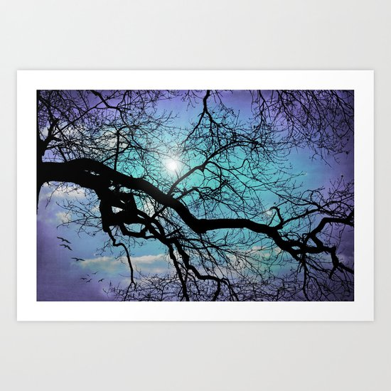 SILENT TREE Art Print