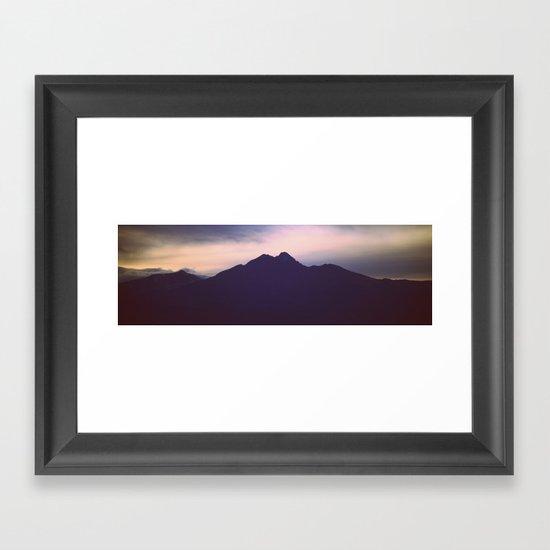 Overview II Framed Art Print
