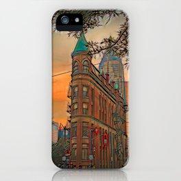 Gooderham Building - Toronto, Canada iPhone Case