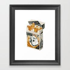 'Cracking Heads' Framed Art Print