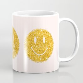 Happy Glitter Coffee Mug