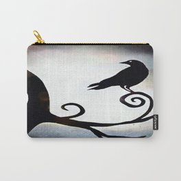 Spotlight Crow Carry-All Pouch