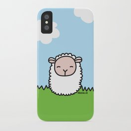 Sleeping Sheep iPhone Case