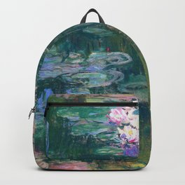 Claude Monet - Water Lilies Backpack