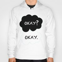 okay Hoodies featuring Okay by Hoeroine