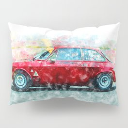 Alfa Giulia Racing Pillow Sham