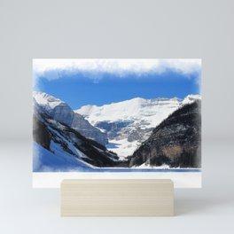 Lake Louise in Banff National Park Mini Art Print