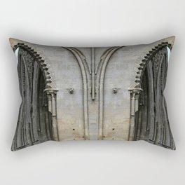 Glastonbury Abbey 2 Rectangular Pillow