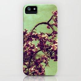 Redscale Blossom iPhone Case