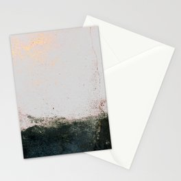 abstract smoke wall painting Stationery Cards