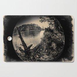 The river by Jen-François Dupuis Cutting Board