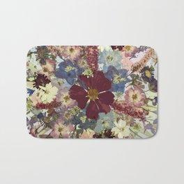 Flower Burst Graphic Bath Mat