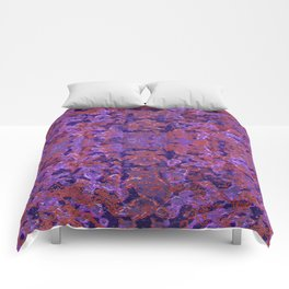 Intricate Patterned Textured Comforters