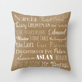 Narnia Celebration - Tortilla Throw Pillow