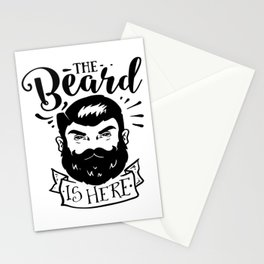 The Beard Is Here Stationery Cards