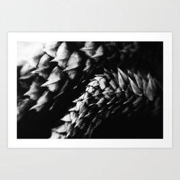 Reptillian LCD Art Print