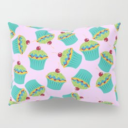 Cupcakes - 'The Marvelous Colors of a Lollipop' Pillow Sham