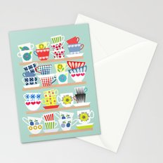 Scadinavian Cups Collection Stationery Cards